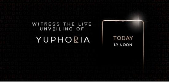 Micromax Yu Yuphoria Launch event: Watch live streaming here - 1