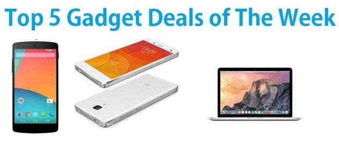 Top 5 Gadget Deals of the Week: Xiaomi Mi4, Nexus 5 and Much More - 2