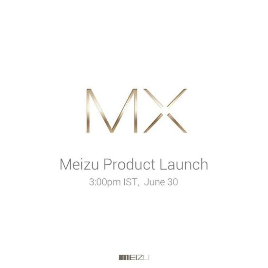 Watch Meizu MX5 Launch Event live streaming on June 30th in China & India - 1