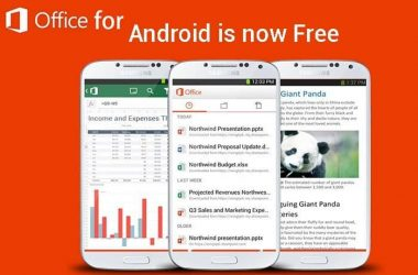 Microsoft Office is available for free to Android users: Sneak Peak of the app - 3