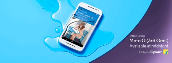 Moto G 3rd Gen gets launched on Flipkart with exciting launch day offers - 1