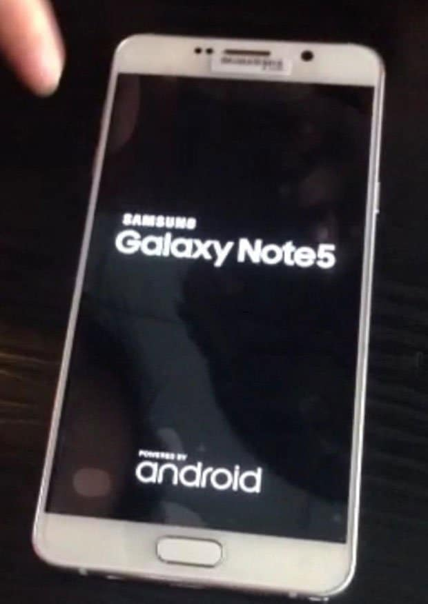 Samsung Galaxy Note 5 & S6 Edge+ live images leaked: Shot with iPhone 6 :p - 6