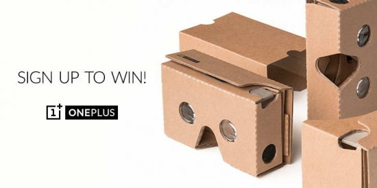 OnePlus Cardboard at less than $2! - 1