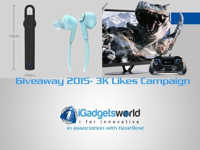 Giveaway: 3K Likes Campaign giveaway winner announcement - iGadgetsworld - 2