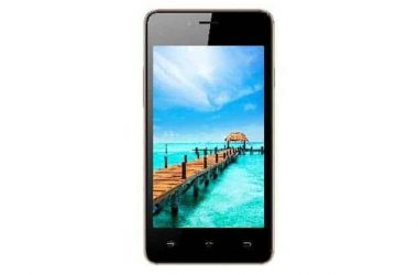 Spice Xlife 406 is launched at a price of Rs. 3,799 - 3