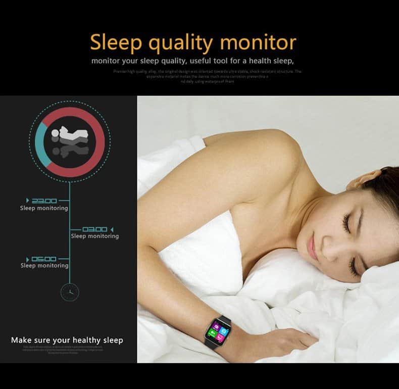 Aiwatch GT08+ smartwatch-Sleep-quality-monitor