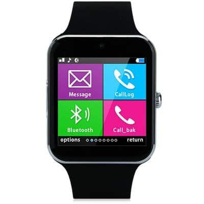 Aiwatch GT08+ smartwatch-black-strip