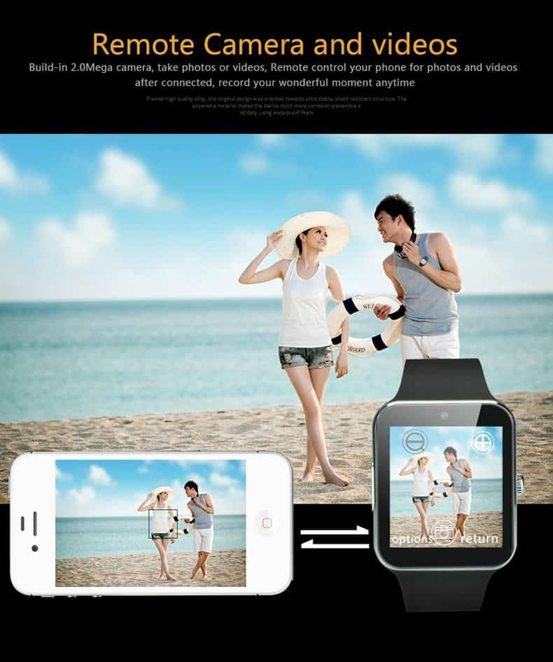 Aiwatch GT08+ smartwatch-remote-camera