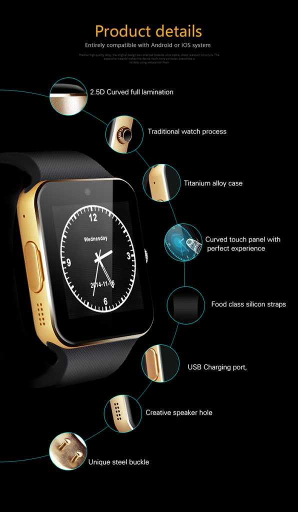 Aiwatch GT08+ smartwatch-specifications