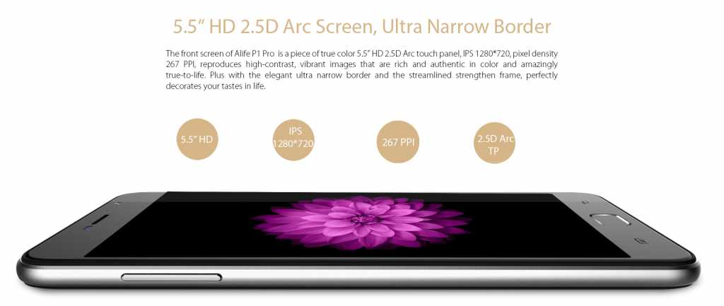 Blackview-alife-pro-p1-display