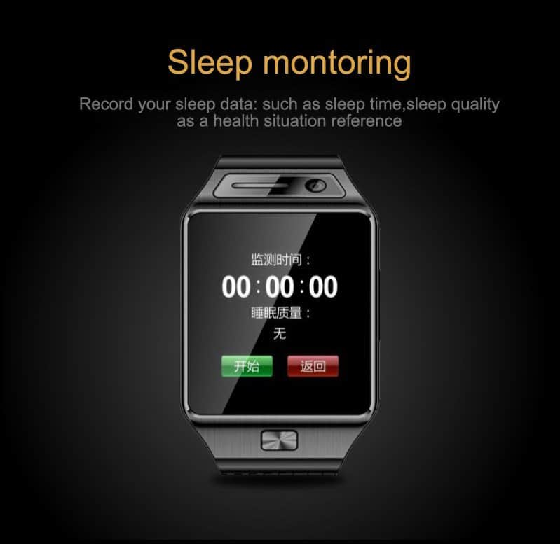 GV08S smartwatch-sleep-monitor