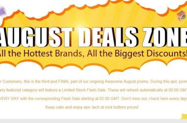 August Deals Zone 2015: Limited Stock Flash sale in GearBest| Products from Major Brands - 3