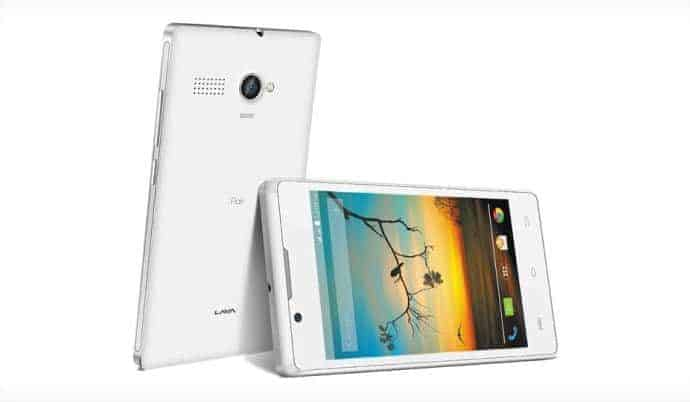 An Andoid smartphone with 256MB of RAM? Yes, meet Lava Flair P1i - 2