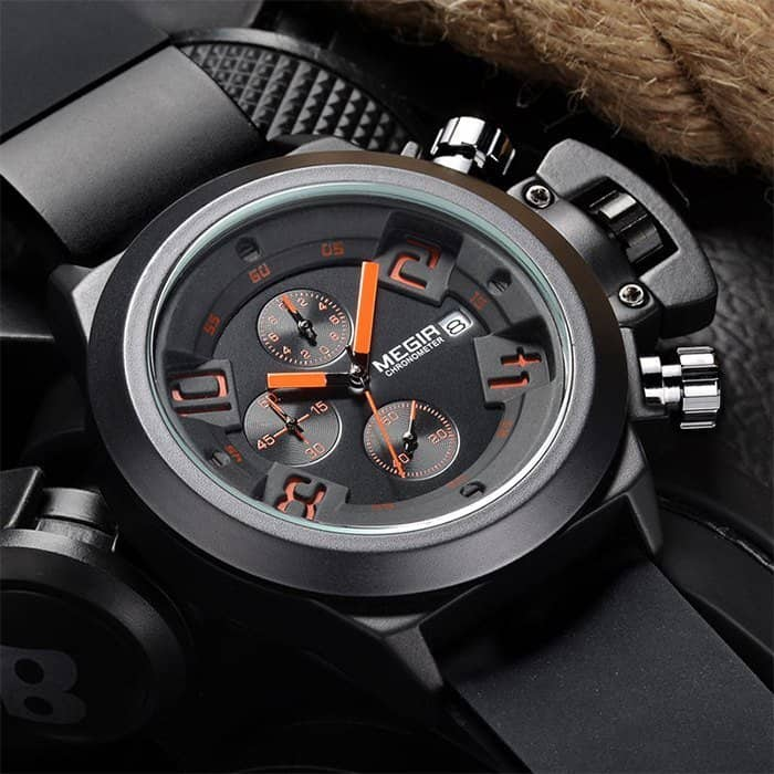 Megir-water-resistant-quartz-watch