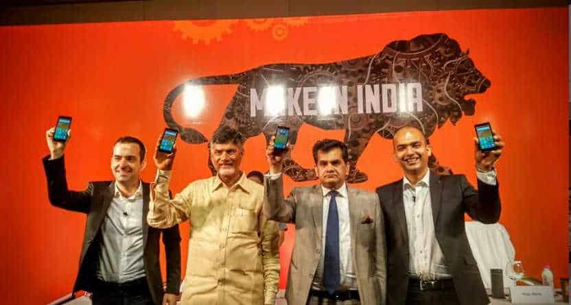 Xiaomi VP Hugo Barra and Manu Kumar Jain unveils Redmi 2 Price in Vizag