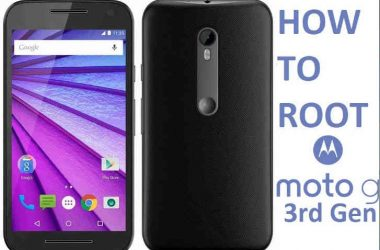 How To : Root Moto G 3rd Gen, unlock the bootloader and install custom recovery - 3