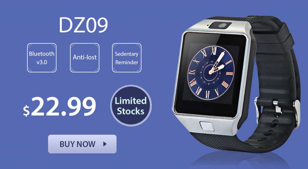 DZ09 Smartwatch Deal-alert