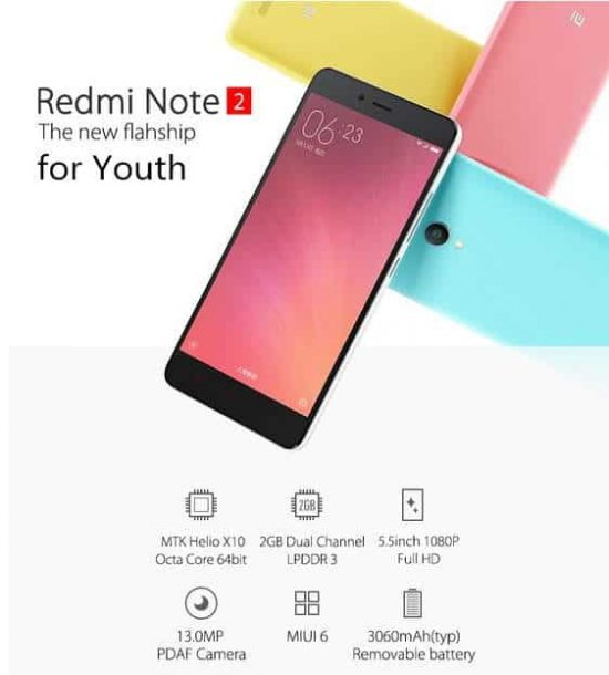 Xiaomi Redmi Note 2 available now along with Great Discounts [DEAL ALERT] - 1