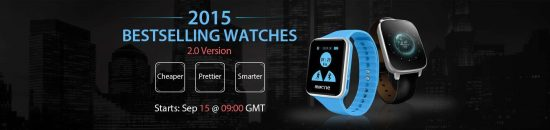 Top 4 Best Selling Cheapest Smartwatches- 2015: Deal Alert - 1