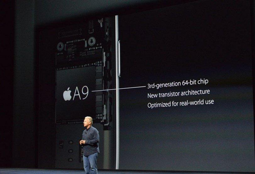 iPhone 6S- A9 processor-inside