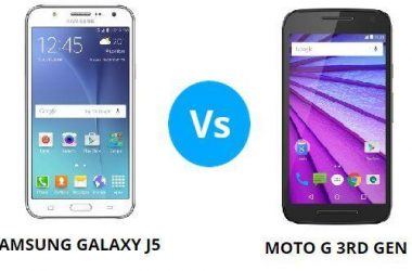 Galaxy J5 or Moto G 3rd Gen with 1GB of RAM? We have the answer - 1