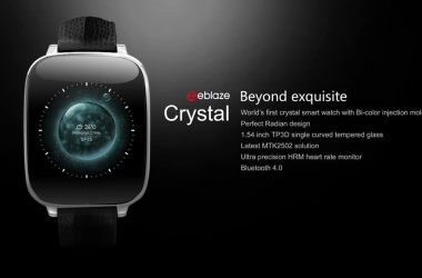 ZeBlaze Crystal Smartwatch steal deal right now for 45$ only - 2