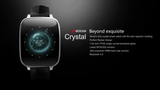 ZeBlaze Crystal Smartwatch steal deal right now for 45$ only - 1