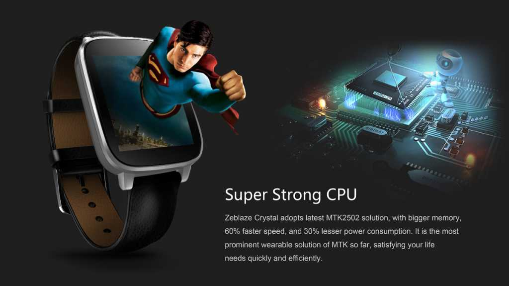 zeblaze crystal smartwatch-super-strong-cpu