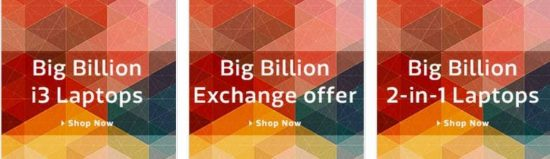 Today's Big Billion Day Offers on Laptops you shouldn't miss [October 13] - 1