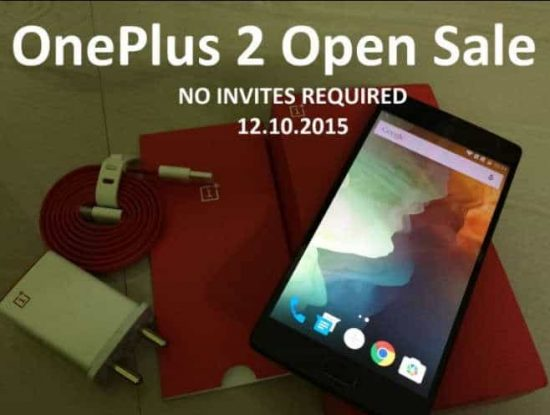OnePlus 2 will go for open sale soon on Amazon India - 1
