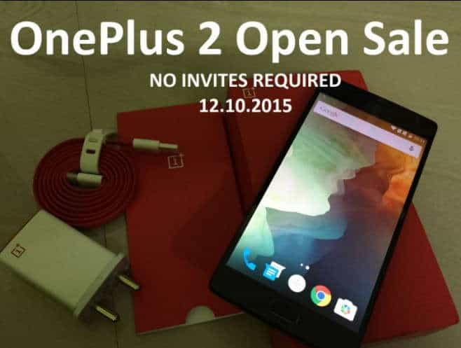 OnePlus 2 will go for open sale soon on Amazon India - 2