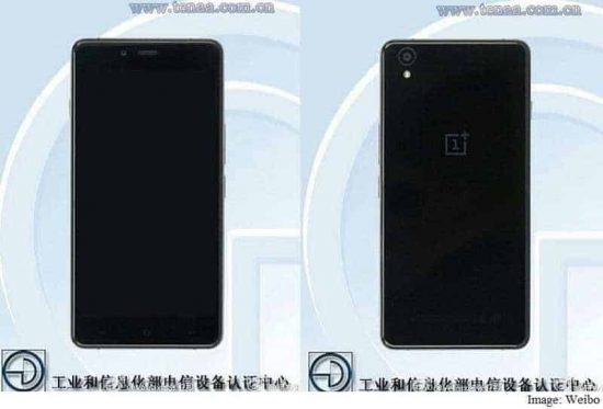 OnePlus X spotted on certification site with specs and images - 1