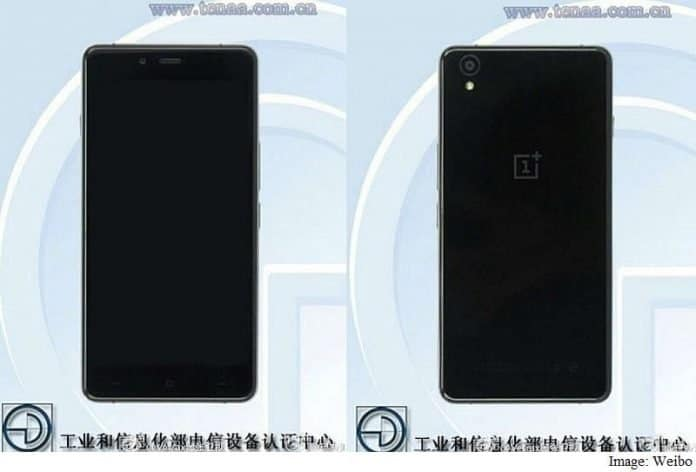 OnePlus X spotted on certification site with specs and images - 2