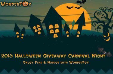 Halloween Gift 2015: Trick or Treat Giveaway from WonderFox - 3