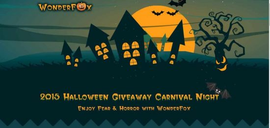 Halloween Gift 2015: Trick or Treat Giveaway from WonderFox - 1