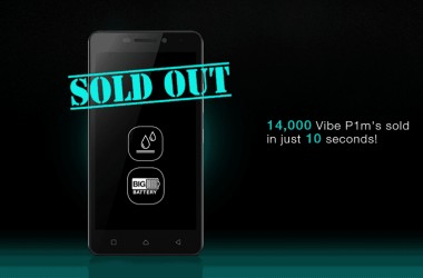 Lenovo Vibe P1m First Flash Sale: 14000 Units of sold out in 10 Seconds - 2
