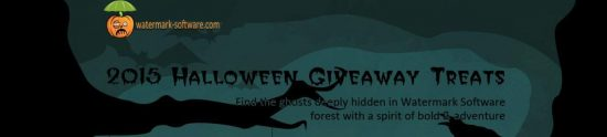 Giveaway: Get free Photo Watermark & Video to Picture Software [Halloween 2015] - 1