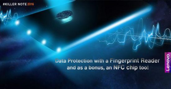 It's official, Lenovo K4 Note to feature fingerprint scanner and NFC chip - 1