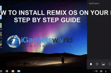 HOW TO: Install Remix OS on PC & enjoy the power of Android, step by step guide - 16