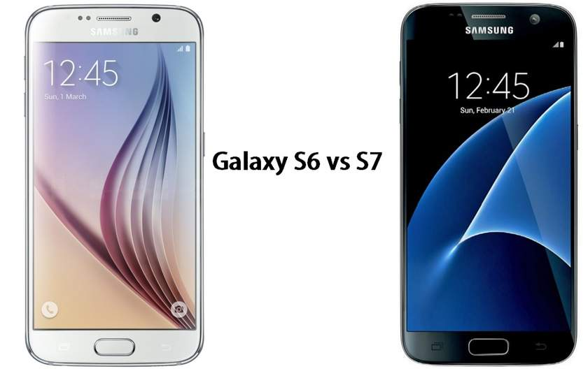 The Samsung Galaxy S6 vs S7, what has changed? - 2