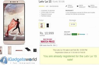 HOW TO: Buy Le 1s easily during flash sales on Flipkart - 2