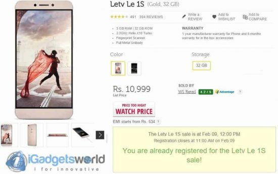HOW TO: Buy Le 1s easily during flash sales on Flipkart - 1