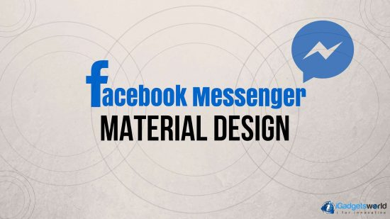Facebook Messenger getting Material Design and multiple account support - 1