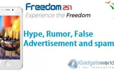 Freedom251 Shit: Hype, Rumor, False Advertising, Spams Made Me Mad - 3