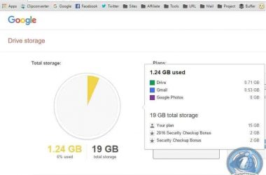 Google is giving 2GB of free space for performing security checkup - 3