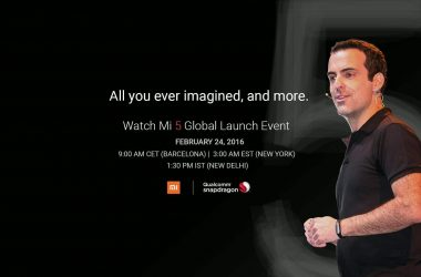 How To Watch Mi5 Launch Event Live - 2