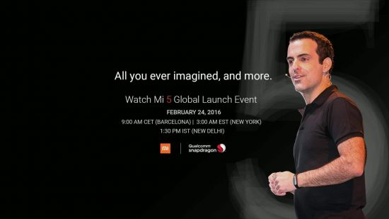 How To Watch Mi5 Launch Event Live - 1