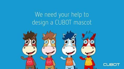 Design mascot for Cubot and get phones from them for free for the next one year - 2