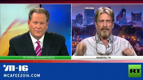 John McAfee reveals how he can hack an iPhone within 30 minutes - 1