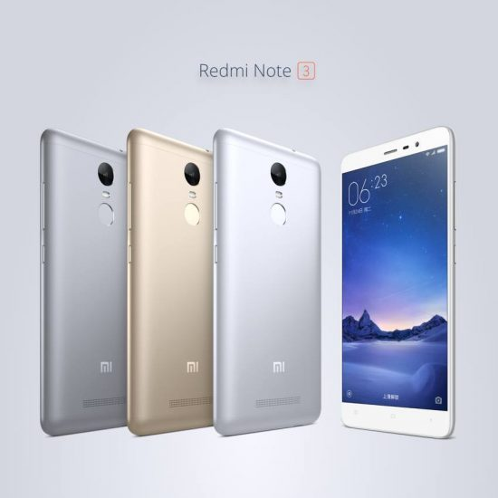 Redmi Note 3 with Metal Body and Fingerprint Scanner Launched in India - 1